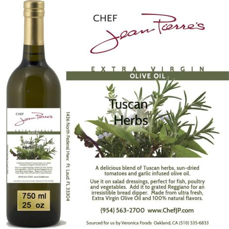 Naturally Infused Tuscan Herb Olive Oil