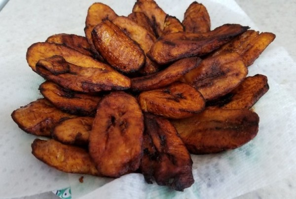 Nigerian Fried Plantain