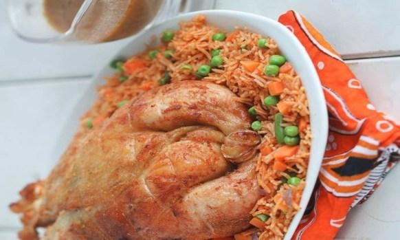 Ashanti Chicken - Ghanaian Foods for weight Gain