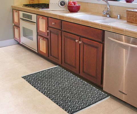 Easy to clean kitchen rugs
