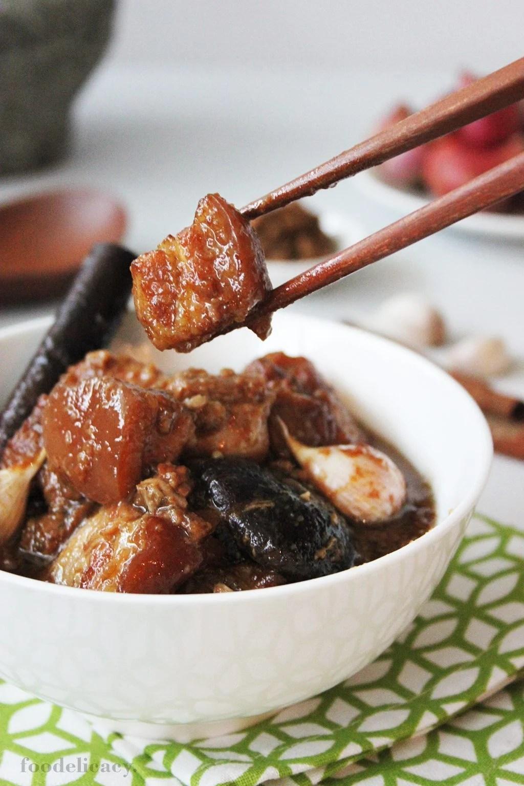 Braised Artinya : braised, artinya, Pongteh, (Nonya, Braised, Fermented, Sauce), Foodelicacy