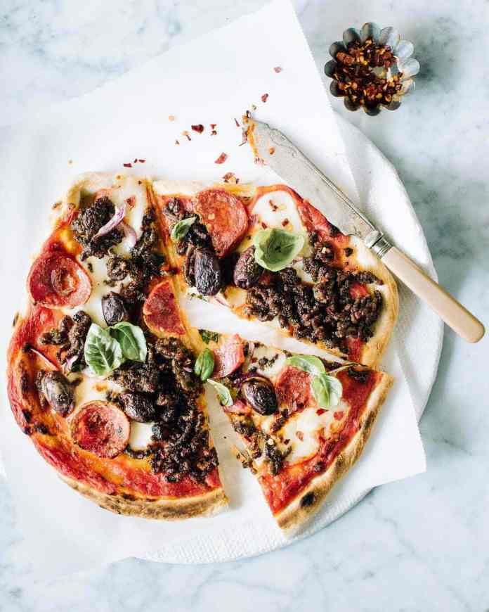 The Ultimate Homemade Pizza Dough Recipe Best Ever Foodess