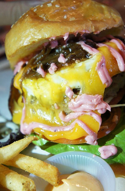 4.grind burger bar -Grind House (pork) RM 19