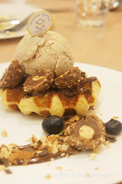 7.But know that they pull things off with waffles alone, satisfying bites without toppings are always a good choice