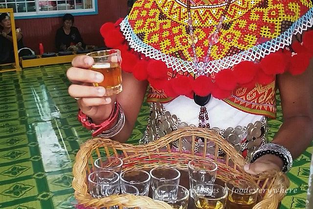 6.Iban delicacies at the Bawang Assan Longhouse Village