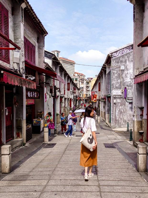 Rua Felicidade Macao (Macau)
