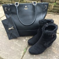 Modalu Large Dickens Tote / Russell & Bromley Aquatalia New Dry Boots