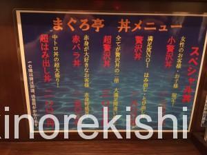 神田メガ盛り海鮮丼まぐろ亭超贅沢丼大盛り6