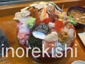 武蔵野市国立幸寿司(こうずし)びっくり丼大盛り15