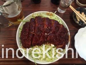 キッチンフライパン北千住特大ロースソースカツ丼2