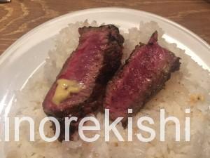 神田肉バルランプキャップランチサーロインステーキ17