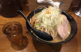 上野麺処花田味噌ラーメン大盛り5