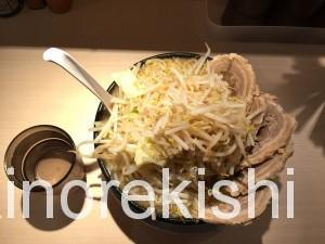 錦糸町麺屋三郎ラーメン豚麺特盛野菜大盛り8