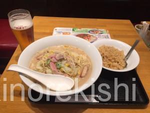 長崎ちゃんぽんリンガーハット亀戸駅前店2倍生ビールチャーハン8