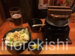 鳥貴族浅草橋ビール金麦ジャンボ焼鳥キャベツおかわり自由釜飯13
