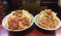 神田デカ盛り立川マシマシ大ラーメン野菜マシ7