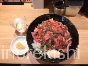 新宿歌舞伎町デカ盛りローストビーフ油そばビースト肉増しキング450g麺大盛り14