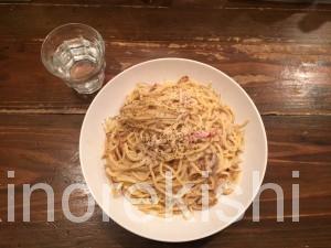 浅草メガ盛り炒めスパゲッティカルボ大盛りカルボナーラパスタ15