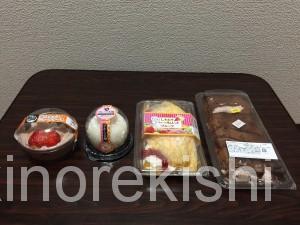 激安コンビニデザートドンレミーアウトレット上野スイーツ安いクレープケーキ大福お菓子切り落とし18