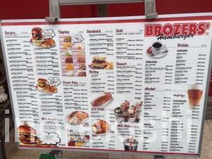 浜町デカ盛りブラザーズ人形町店ハンバーガーダブルロットバーガーギネスビールデリバリー人気BROZERS14