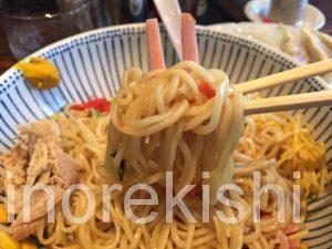 大盛りグルメハッスルラーメンホンマ浜町店冷やし中華サービスランチつけ麺餃子面白い18