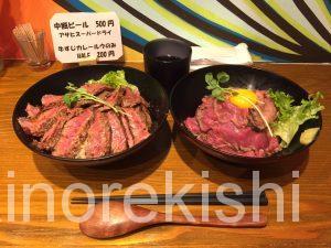 蒲田人気グルメthe肉丼の店ローストビーフ丼ステーキ丼メガ盛り大盛り人気有名美味しいランチ17