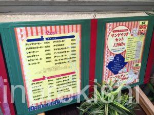 デカ盛りサンドイッチ東銀座アメリカンタマゴサンドランチ巨大人気有名朝食モーニングチキン築地7