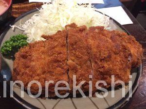 新線新宿デカ盛り豚珍館とんちんかん巨大とんかつ定食大盛りご飯おかわり自由有名人気美味しい豚汁8