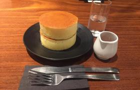 御茶ノ水湯島パンケーキみじんこ厚焼きホットケーキ有名人気文京区末広町コーヒーサンドイッチデート5