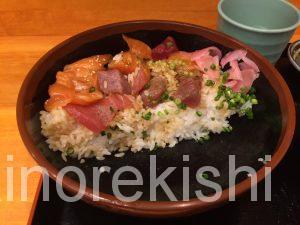 人形町海鮮丼築地ととどんとと丼特盛渋谷お茶早い美味しい14