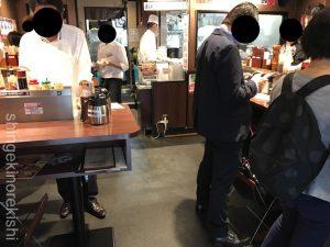 肉ランチいきなりステーキ銀座4丁目店ワイルドステーキ300gライス大盛りおかわり無料メニューディナースープサラダ肉マイレージカードゴールドプラチナソースビール東京ハンバーグ有名人気チェーン