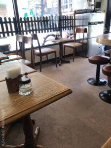 錦糸町カフェ喫茶店トミィパンケーキホットケーキコーン入りチーズバーグアイスコーヒー朝食メニューおやつデカ盛り進撃の歴史32
