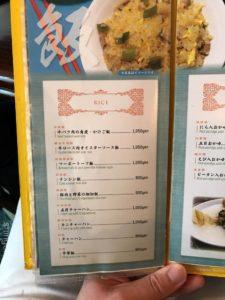 ジャンボ餃子泰興楼たいこうろう八重洲本店ランチセット大盛りライス中華料理メニューデカ盛り進撃の歴史9