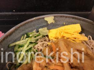 デカ盛り立ち食いそば京成上野つるや冷しジャンボ五目蕎麦メニューデカ盛り進撃の歴史24