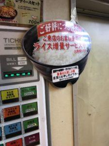 中野新橋デカ盛り伝説のすた丼屋生姜丼肉飯増しライス増量メニュー進撃の歴史6