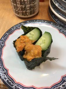 新橋グルメ一番回転寿司まぐろうにいくらメニューデカ盛り進撃の歴史32