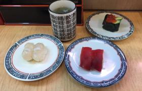 新橋グルメ一番回転寿司まぐろうにいくらメニューデカ盛り進撃の歴史11
