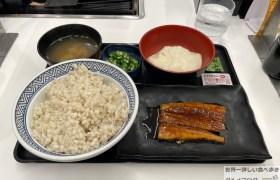 吉野家鰻皿麦とろ御膳ご飯大盛りおかわり無料うなぎメニューデカ盛り進撃のグルメ