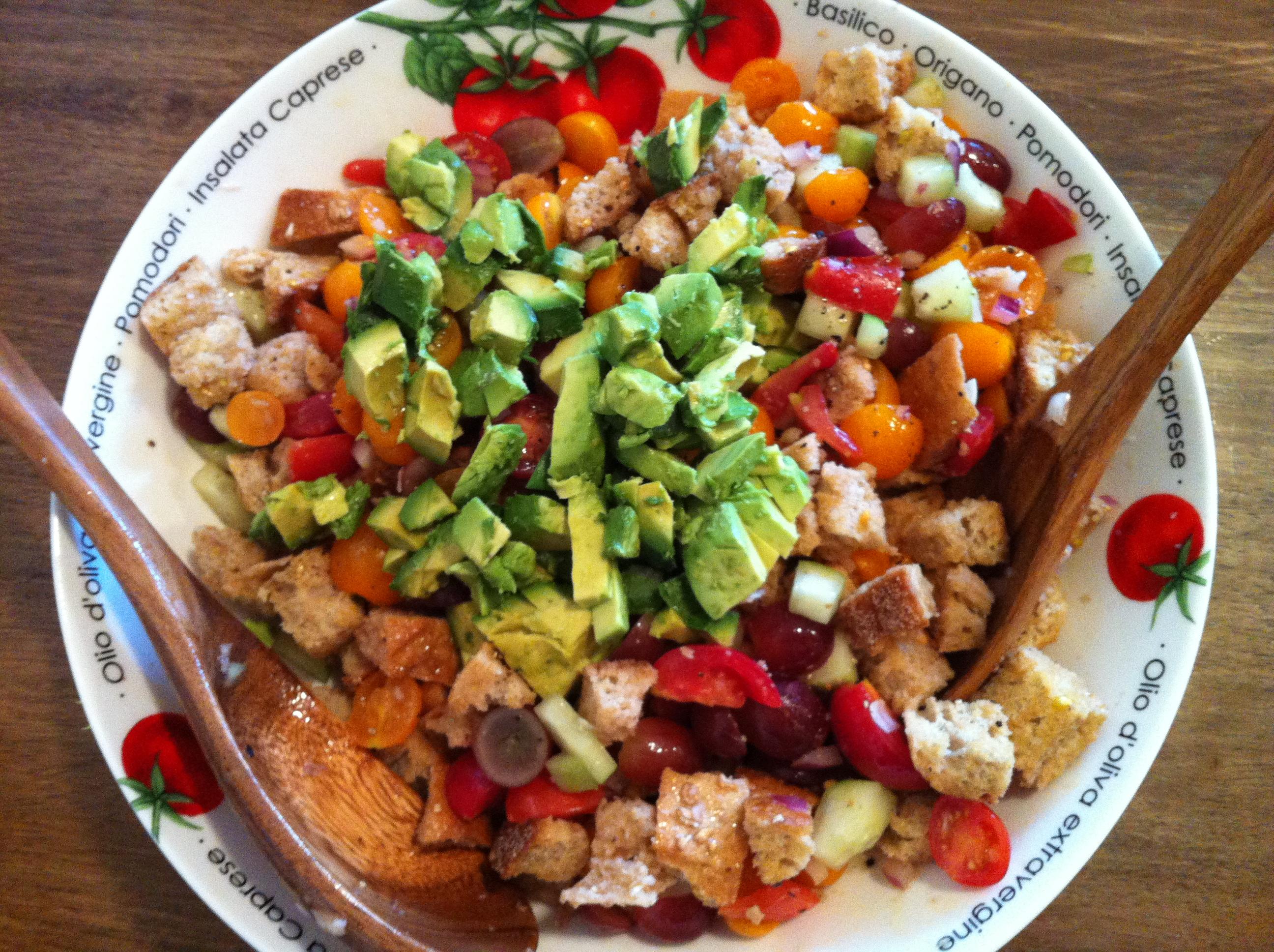 Gazpacho Salad Food Final Frontier