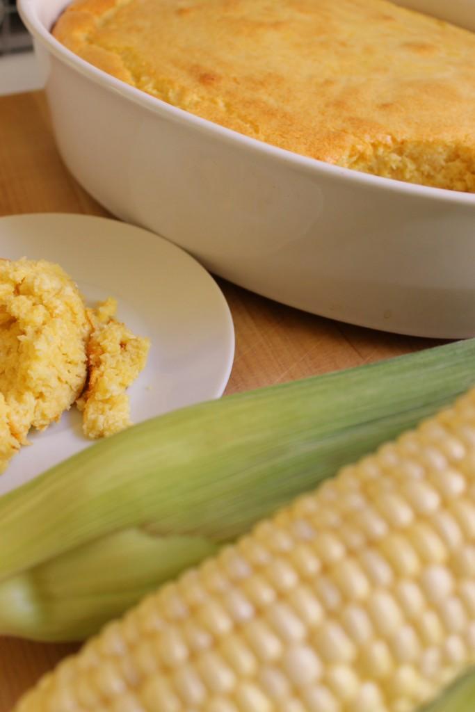 spoonbread, cornbread