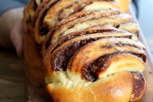 Braided Gluten Free Nutella Bread