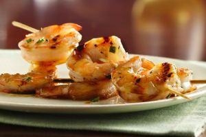 Grilled Honey-Butter Shrimp