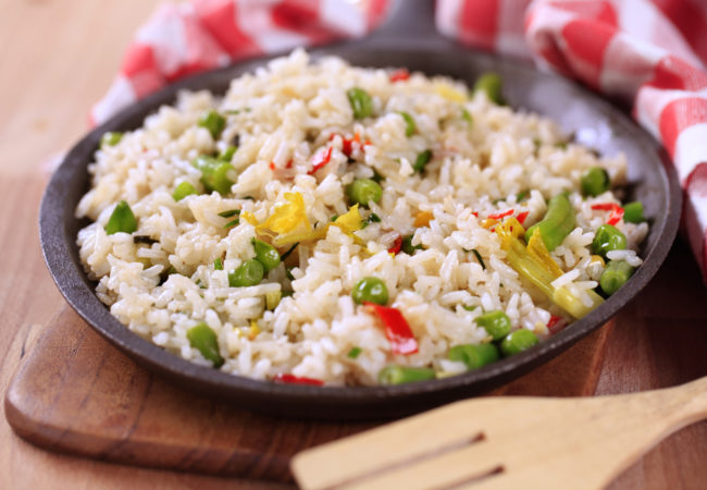 Spring Vegetable Stir-Fried Rice