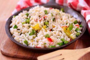 Spring Vegetable Stir-Fried Rice