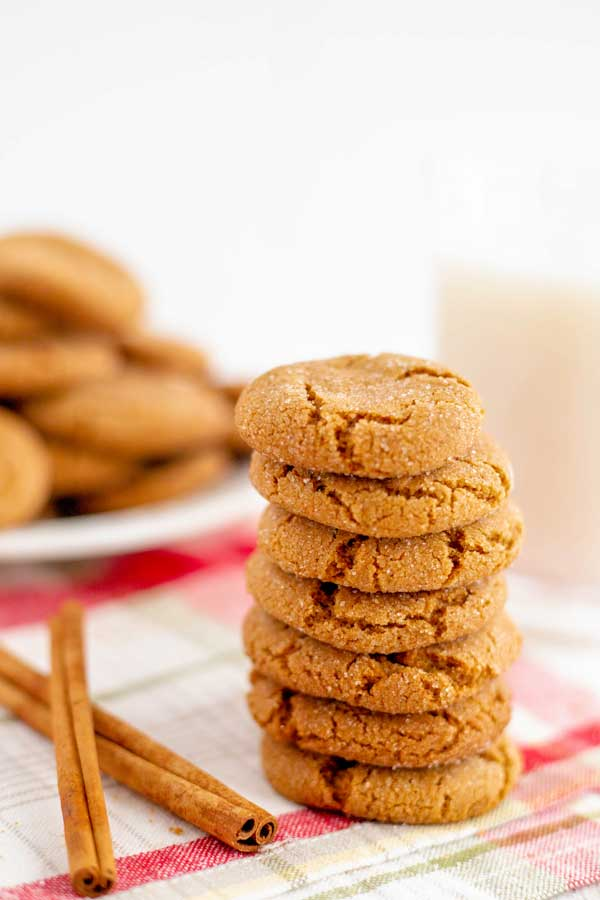 Stacked Ginger Snaps