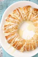 Almond Coffee Cake Ring for Easter and Christmas.