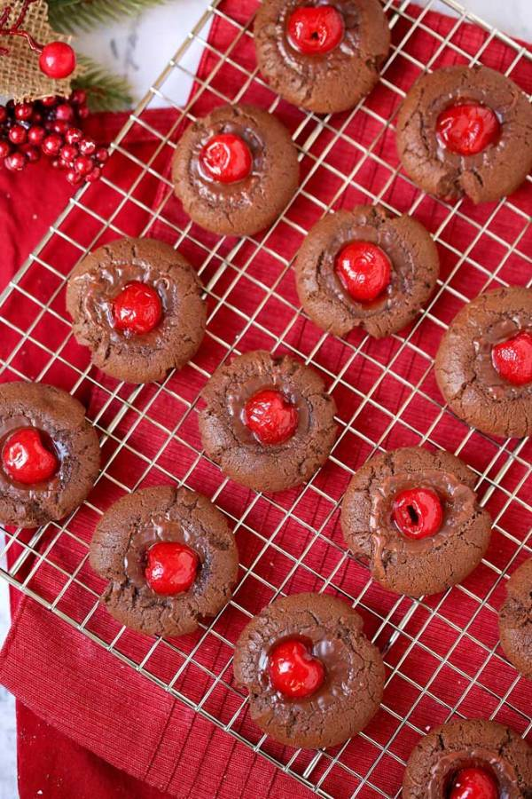 Irresistible Chocolate Covered Cherry Cookies