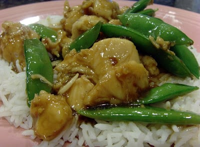 Picture of General Tso Chicken from January 2011