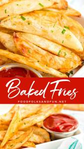 Homemade Oven Fries recipe