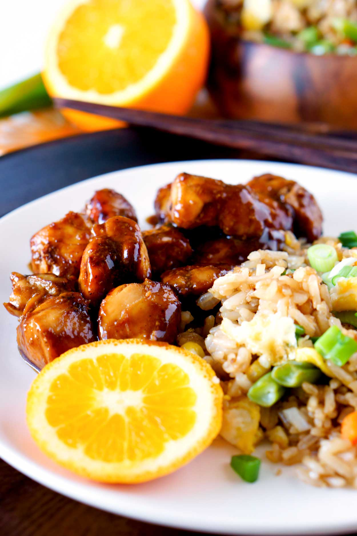 The best Orange Chicken recipe!